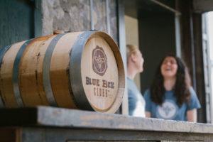 Blue Bee Barrel