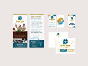Blue Bee Cider Print Materials