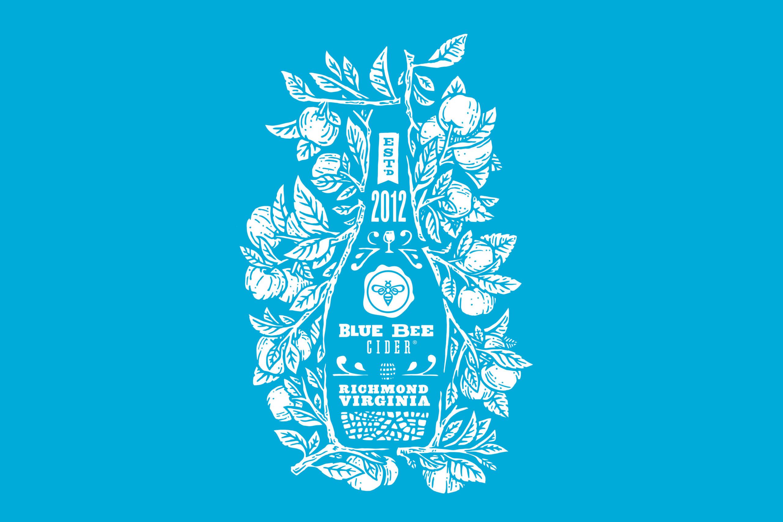 Blue Bee Cider Tshirt Graphic