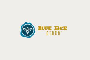 Blue Bee Cider Logo