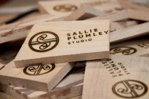 Sallie Plumley Studio Logo Stack