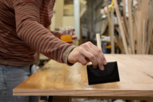 Sallie Plumley Studio Table Stain