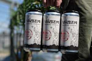 Vasen Brewing Co. Crowlers