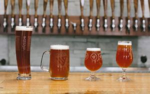 Vasen Brewing Co. Glassware
