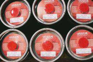 Vasen Brewing Co. Kegs
