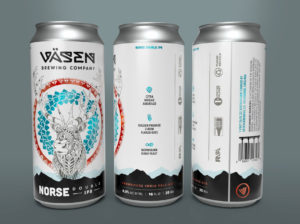 Vasen Brewing Co. Can Design