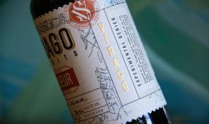 Virago Spirits Label Detail