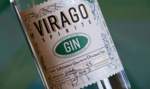 Virago Spirits Gin Label