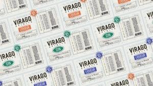 Virago Spirits Bottle Labels