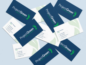 Project Green Business Cards