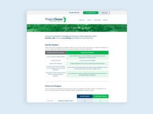 Project Green Web Design