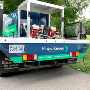 Project Green Truck Wrap