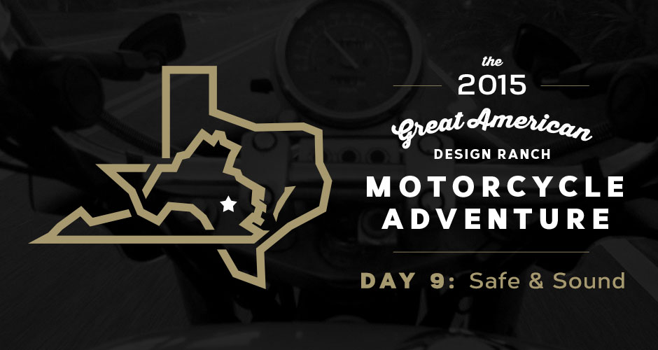 Design Ranch Moto Adventure: Day 9