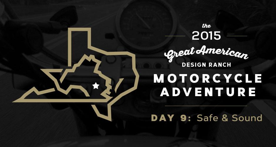 Design Ranch Moto Adventure: Day 9