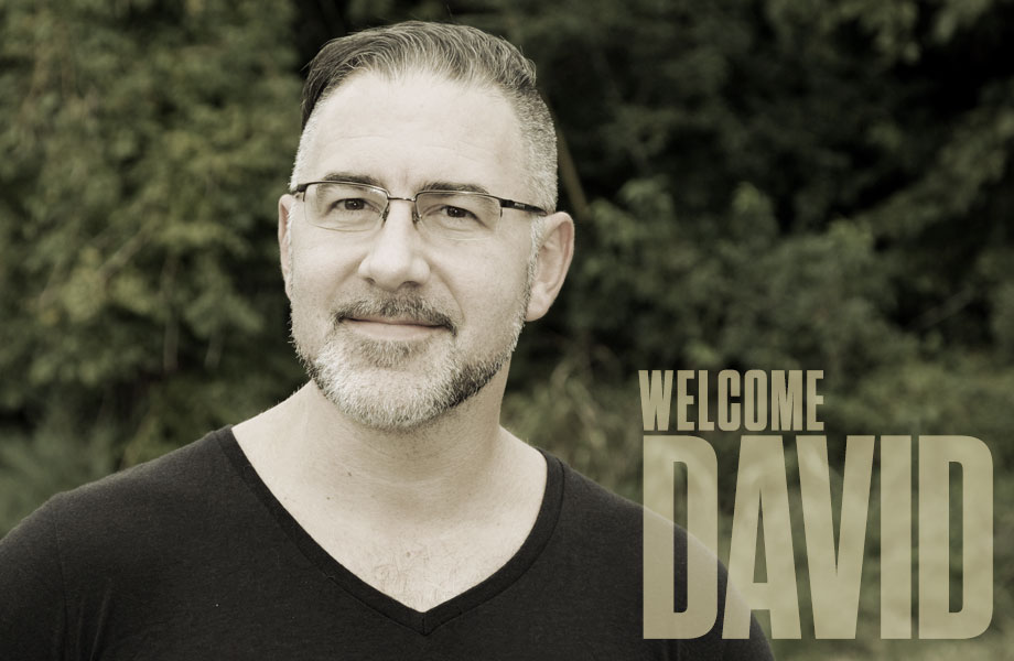 Meet David, Our New Studio Manager!
