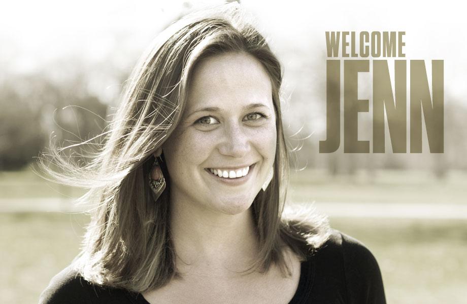 Meet Jenn, Our New Designer!