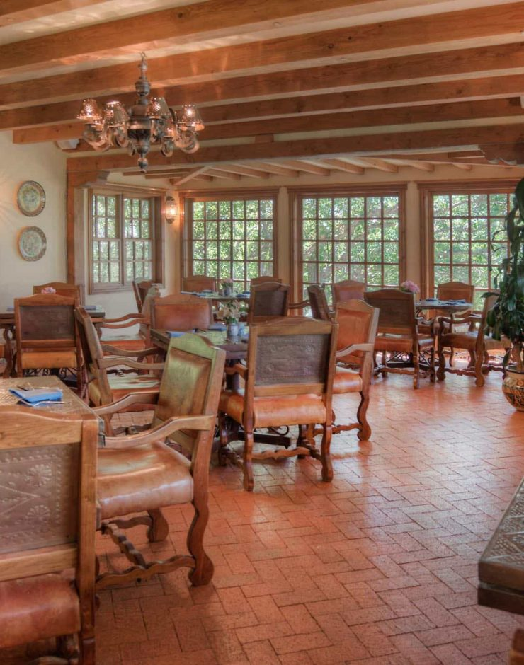 Blue Lake Ranch dining area