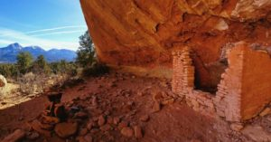 Sand Canyon Trail with Ancestral Puebloan Dwelling