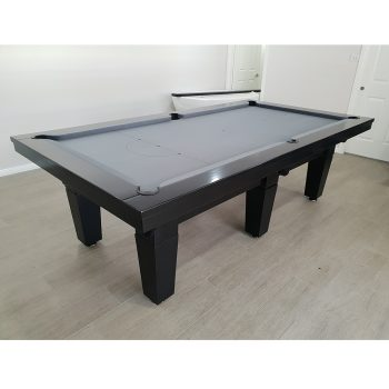 *8ft *Sussex Model *Black Timber Stain * Grey Cloth