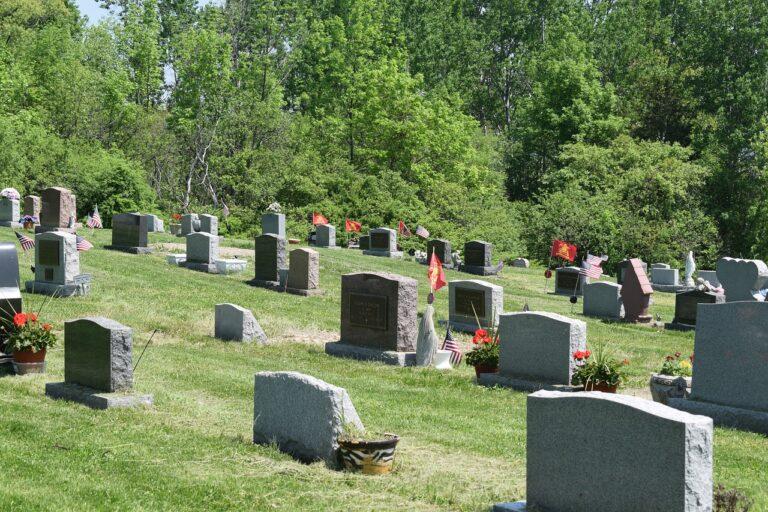 catholic, cemetery, headstone