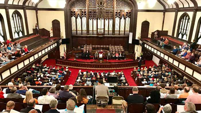 A Successful Inaugural Nehemiah Action Assembly
