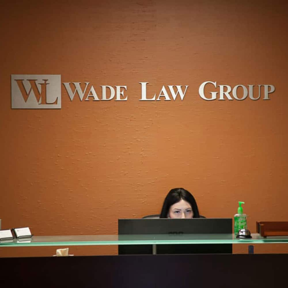 Wade Law Group - Reception Area