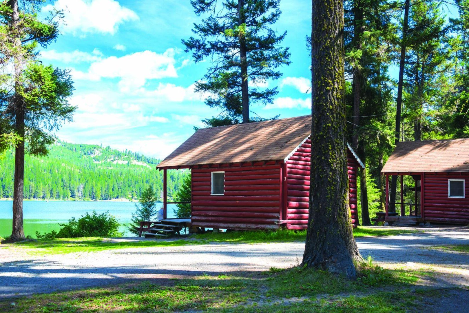 Lake Bonaparte Resort, WA 20130817 by Denise Lett