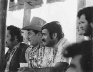 The drug trafficking organization of Pablo Acosta included close family members, such as his brother, Juan Acosta (second from left).