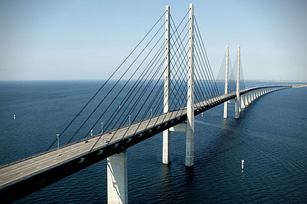 Oresund Bridge, Denmark-Best Places To Visit 2021