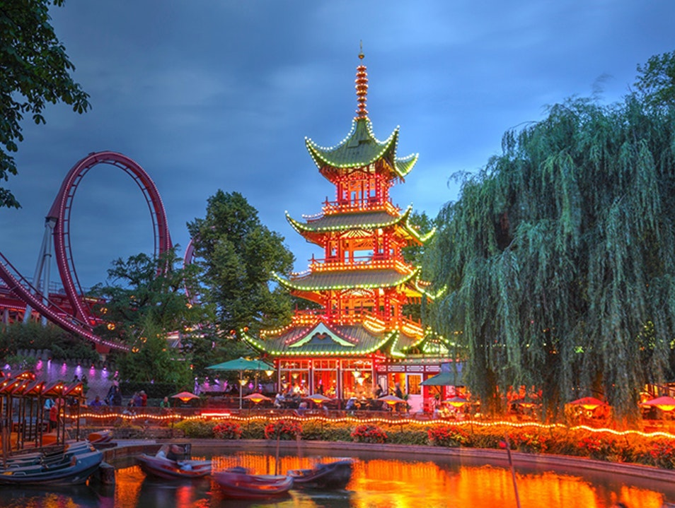 Tivoli Gardens, Denmark-Best Places To Visit 2021