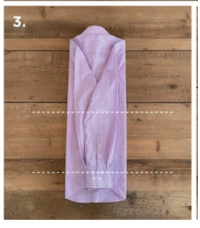 How to Fold a Dress Shirt for Traveling
