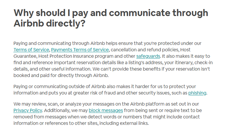 airbnb tip