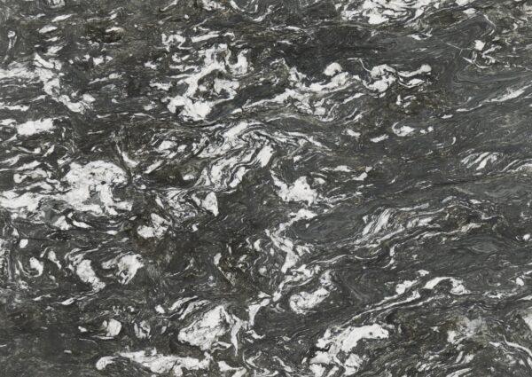 Mandala Black Granite