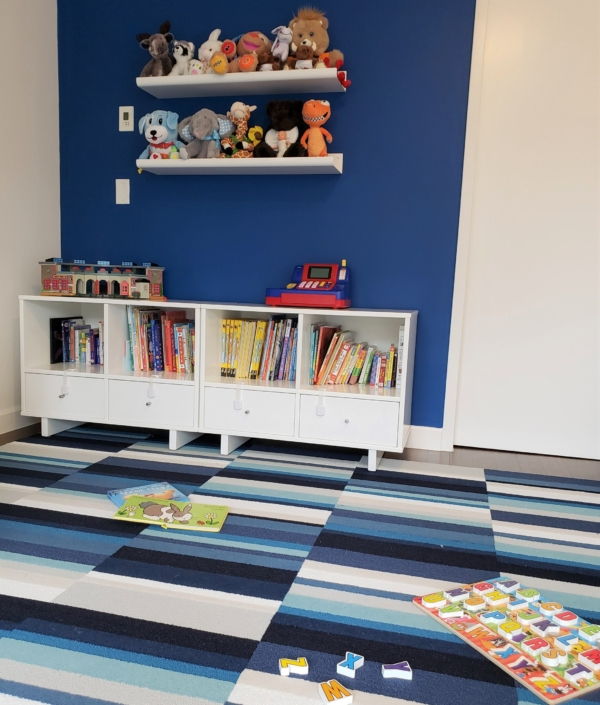 Kids bedroom, boys bedroom & Youth playroom designed & styled by Orlie Katsiris Staging & Interiors