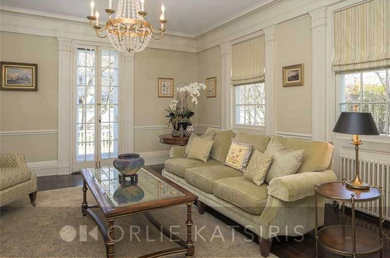 Living Room styled and designed by Orlie Katsiris Staging & Interiors