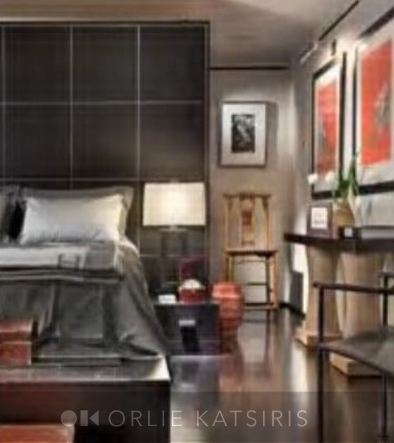 Bedroom & Master Bedroom styled by Orlie Katsiris Staging & Interiors