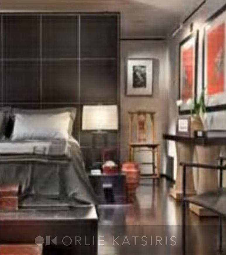 Bedroom & Master Bedroom styled by Orlie Katsiris Staging & Interiors