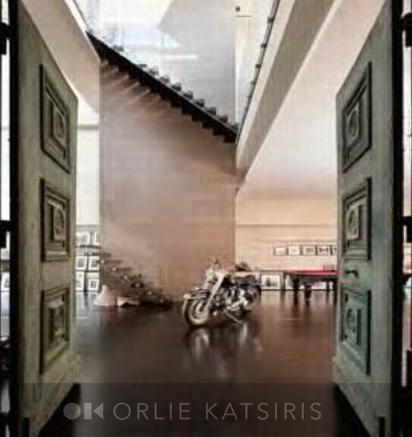 Entry way styled by Orlie Katsiris Staging & Interiors