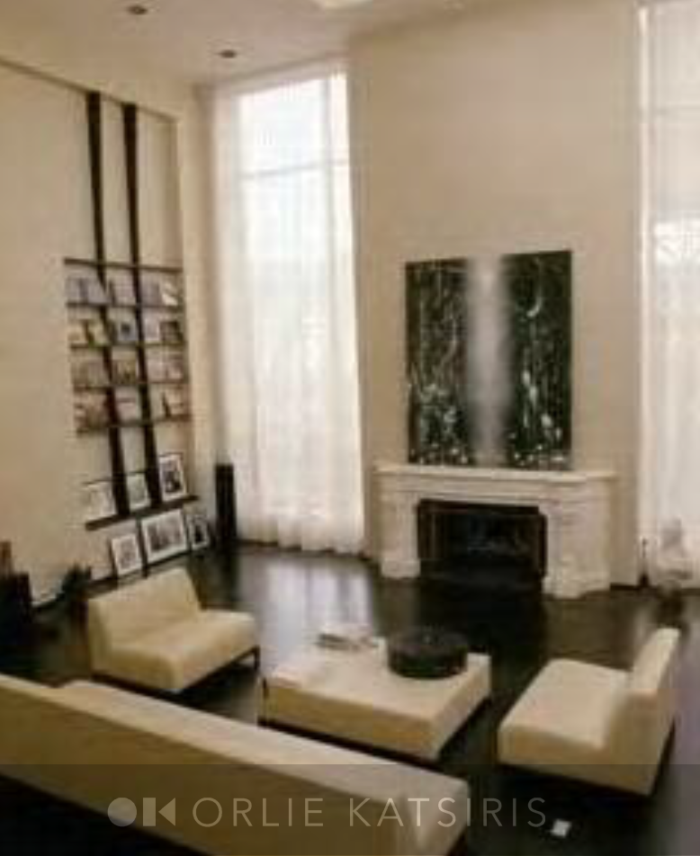 Living Room & Seating Area styled and designed by Orlie Katsiris Staging & Interiors