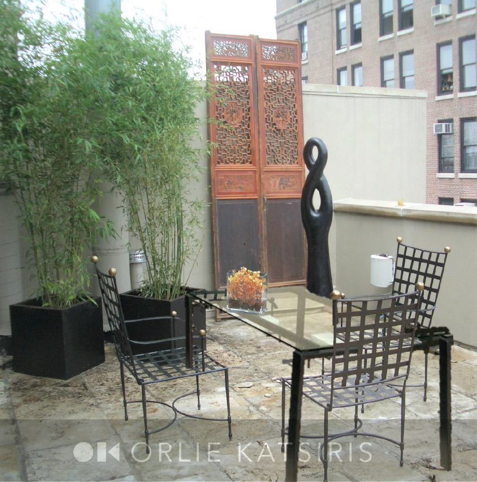 Terrace design & styled by Orlie Katsiris Staging & Interiors
