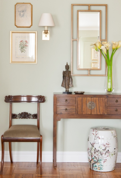 Hallway & Entryway renovated, designed & styled by Orlie Katsiris Staging & Interiors