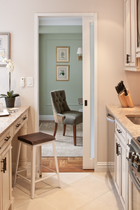 Kitchen & Eat-in-kitchen renovated, designed & styled by Orlie Katsiris Staging & Interiors