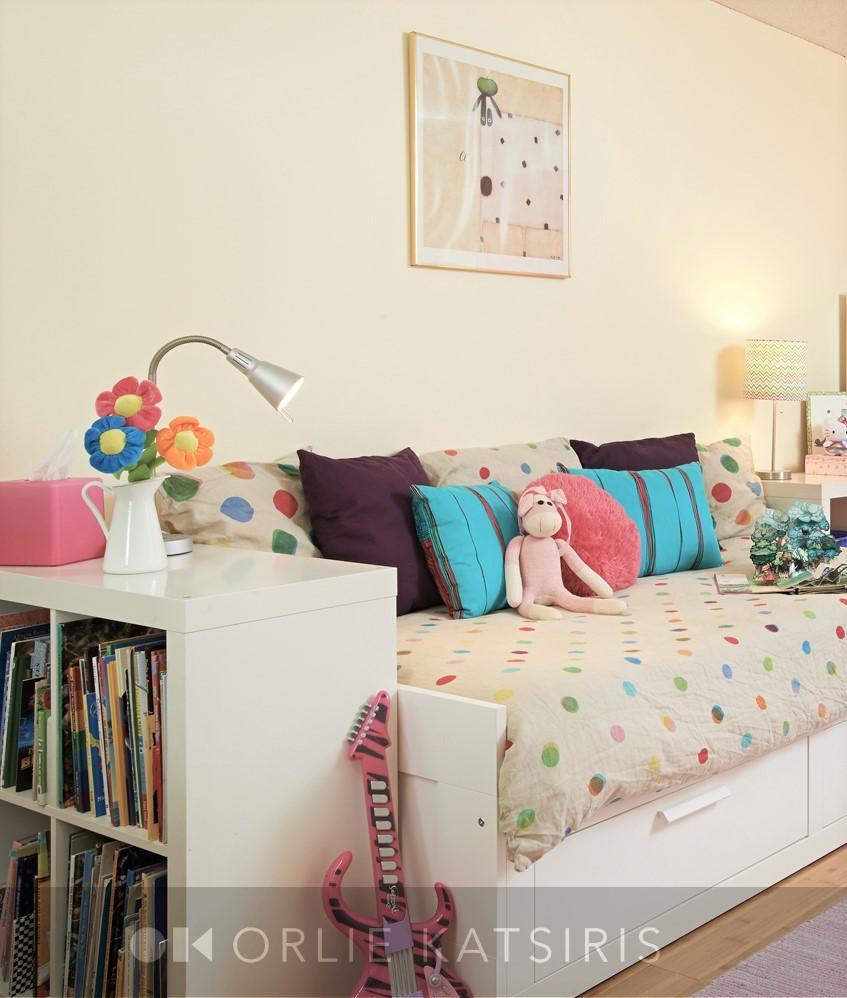 Kids Bedroom & Girls Bedroom renovated, designed & styled by Orlie Katsiris Staging & Interiors