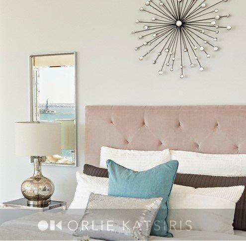 Master Bedroom & Bedroom designed & styled by Orlie Katsiris Staging & Interiors