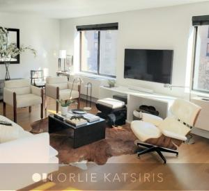 Living Room, Family Room, Seating Area & Den renovated, designed & styled by Orlie Katsiris Staging & Interiors
