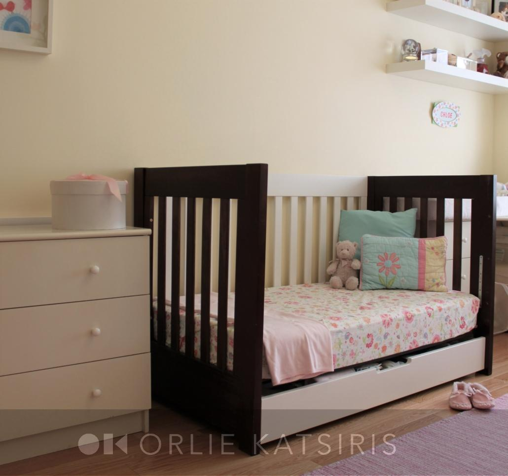 Kids Bedroom, Nursery & Youth Bedroom renovated, designed & styled by Orlie Katsiris Staging & Interiors