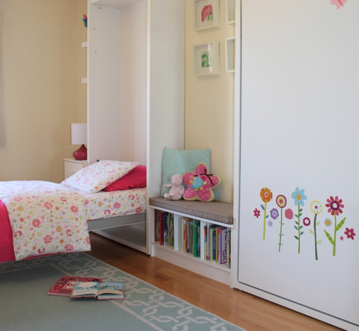Kids Bedroom, Teen Bedroom & Youth Bedroom renovated, designed & styled by Orlie Katsiris Staging & Interiors