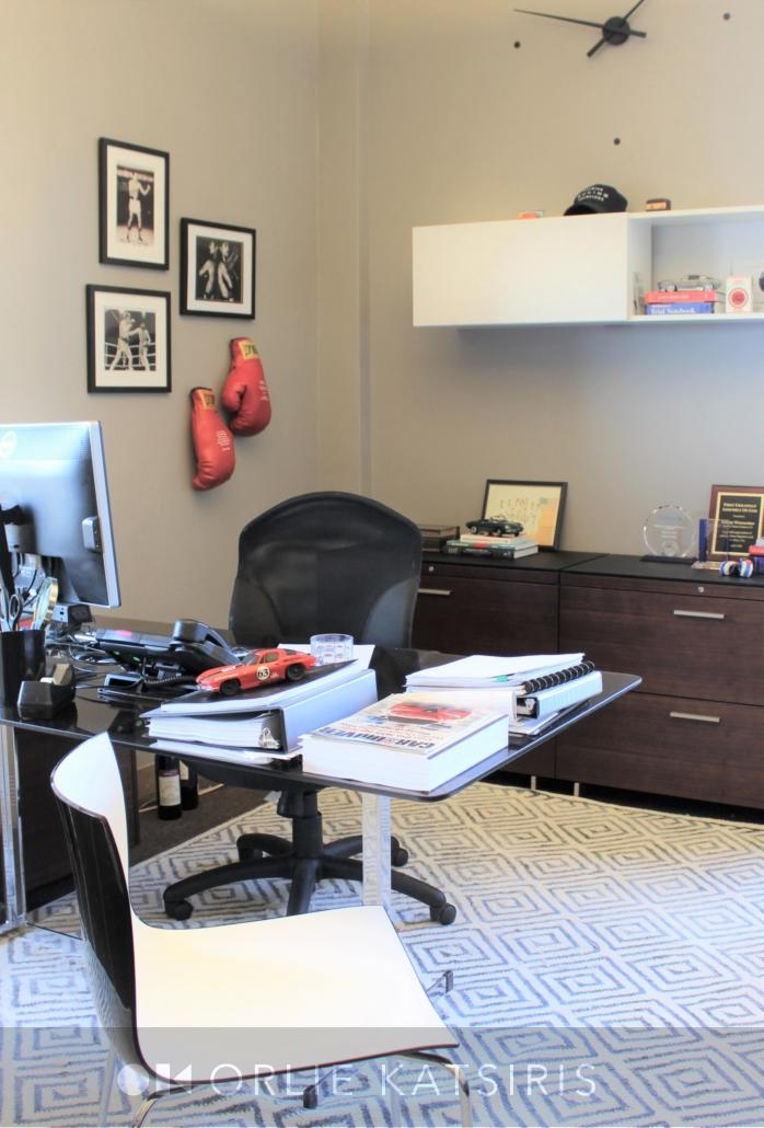 Office, Home Office & Desk Area, renovated, designed & styled by Orlie Katsiris Staging & Interiors