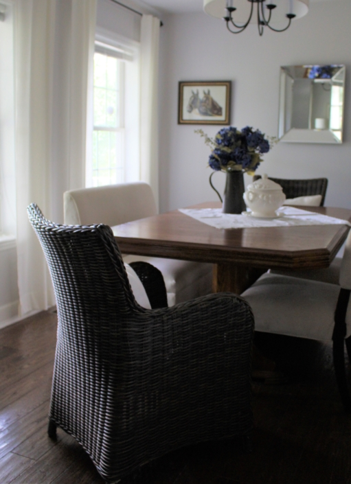 Dining Room & Eating Area renovated, Designed & Styled by Orlie Katsiris Staging & Interiors