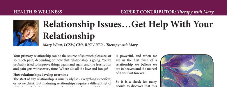 Relationship Issues… Get Help with Your Relationship